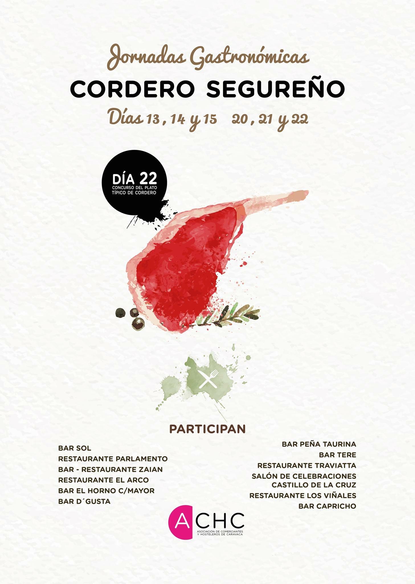 Jornadas Cordero Segureño-Mayo 2016