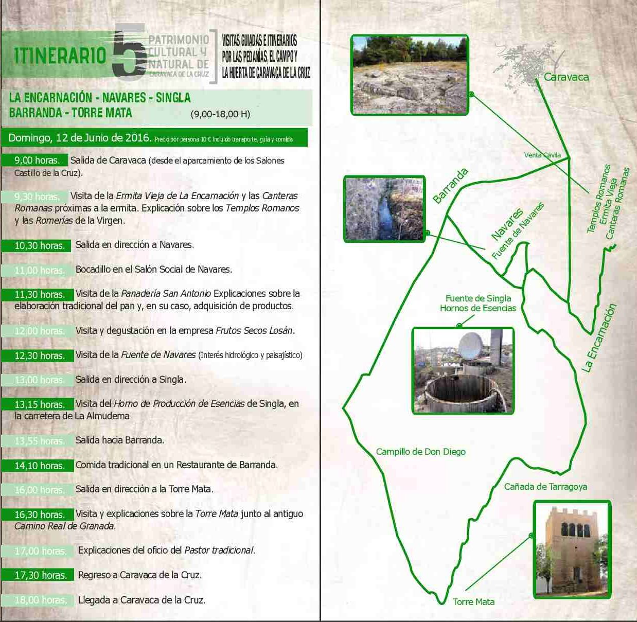 programa Visitas guiadas por las pedanías, el campo y la huerta de Caravaca02