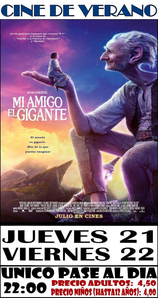 Cine de Verano en Caravaca de la Cruz.
