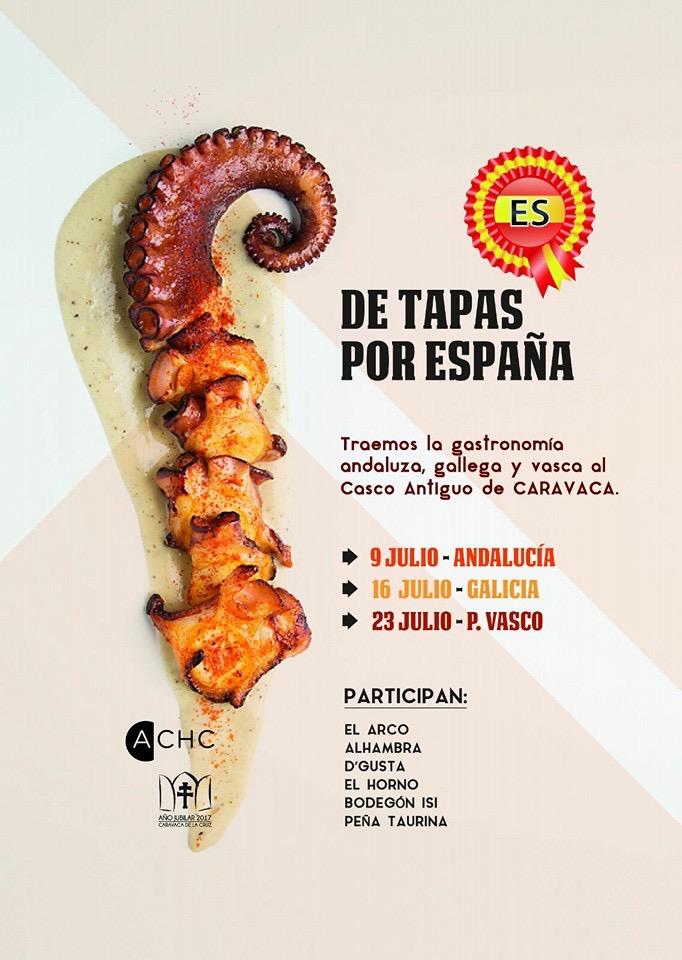 De Tapas por España Julio-2016