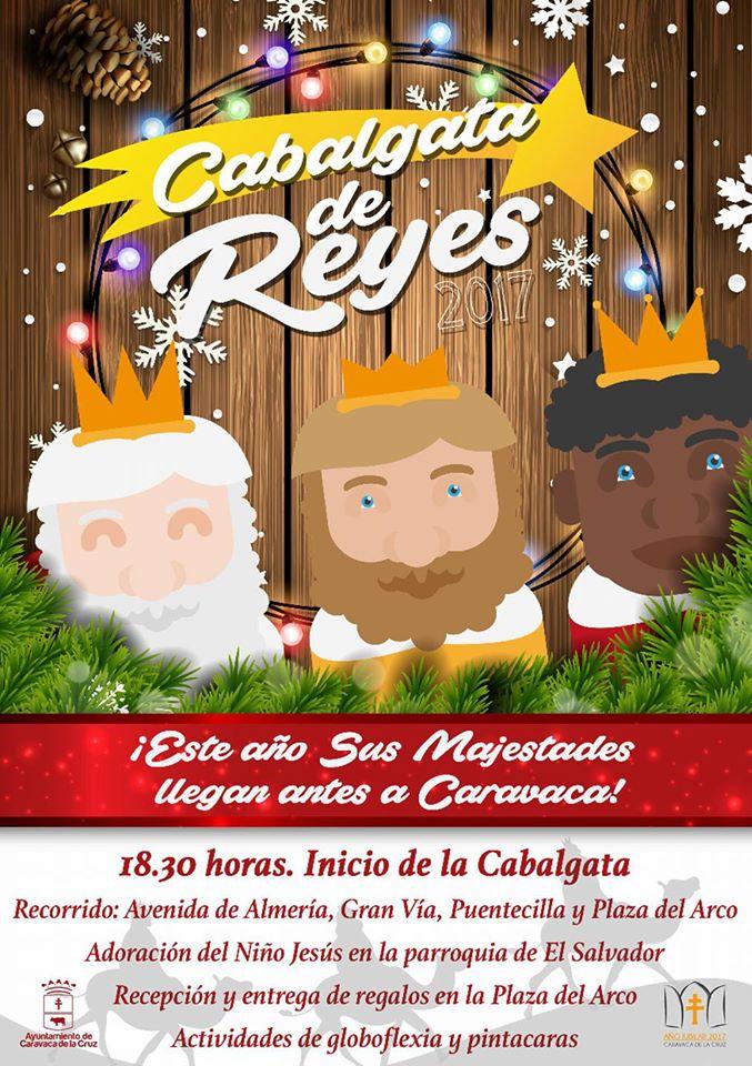 Gran Cabalgata de los Reyes Magos de Oriente en Caravaca de la Cruz