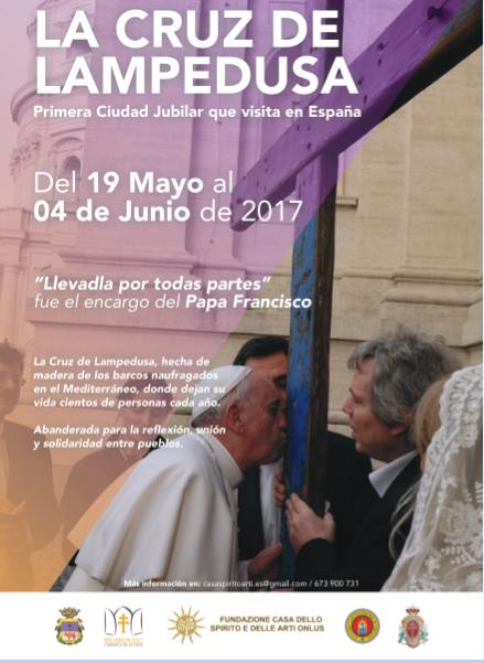 La Cruz de Lampedusa peregrina a Caravaca de la Cruz