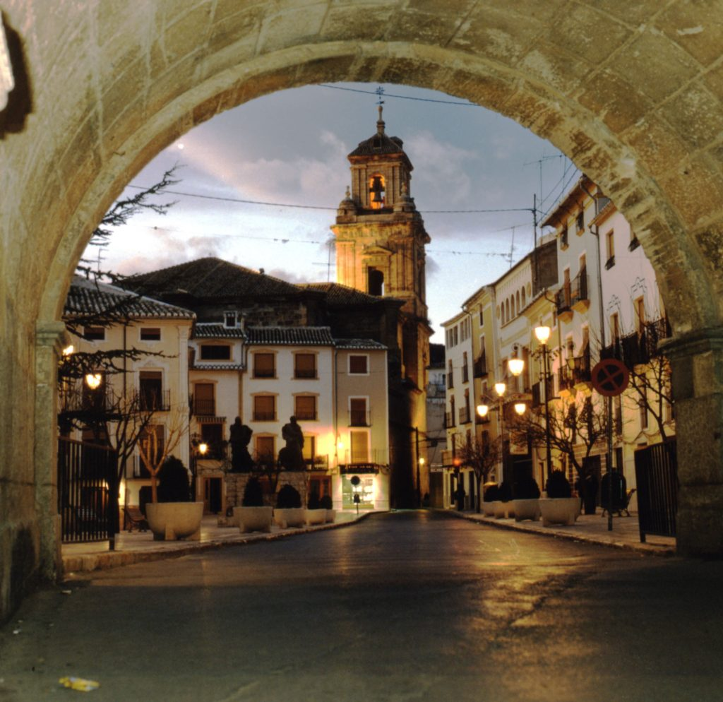 Plaza del Arco de Caravaca de la Cruz