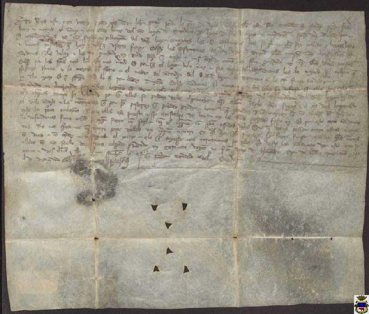Testimonio documental de la fundación del municipio de Caravaca