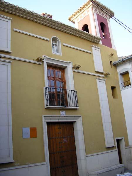 THE HERMIT OR CHURCH OF SANTA ELENA IN CARAVACA DE LA CRUZ