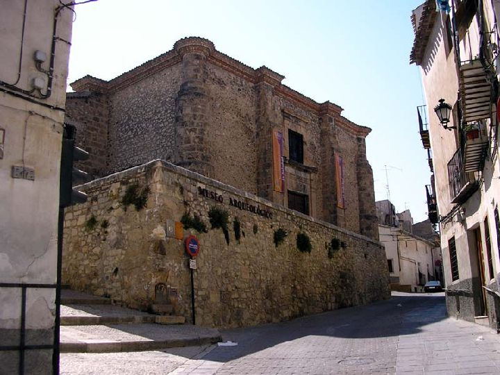 Church of the Soledad / Currently archeological museum