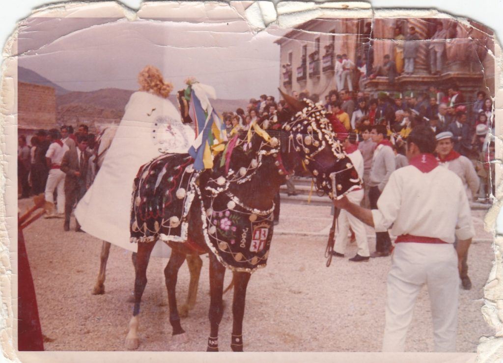 Festivities of Caravaca in 1960 and 1970