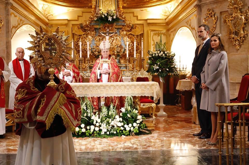 Visita de los Reyes de España a Caravaca de la Cruz