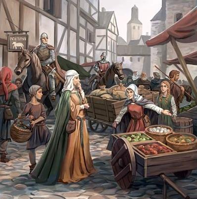 El origen de las ferias medievales