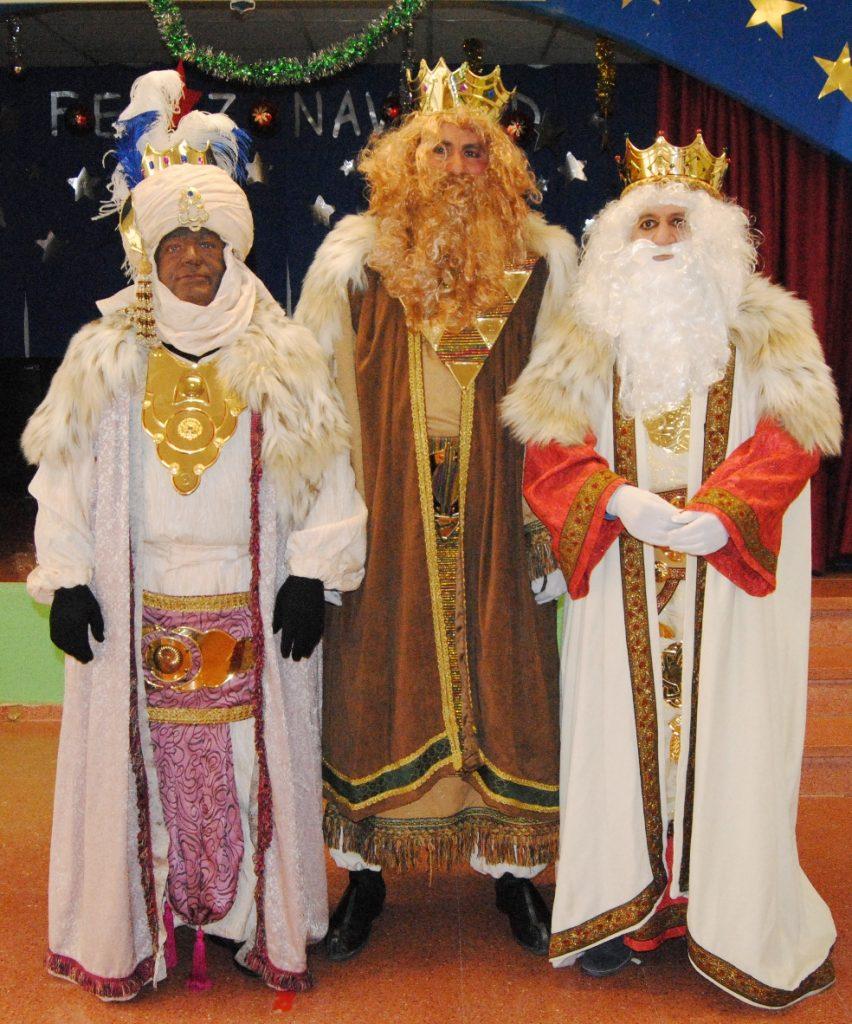 Los Reyes Magos visitando Caravaca en 2015/Juan Fernández Robles.