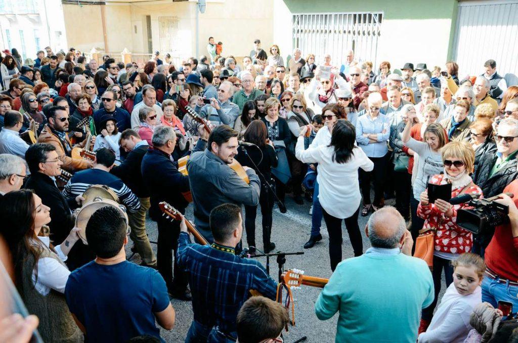 Un momento de la Fiesta de las Cuadrillas de Barranda/ Marina Campoy.