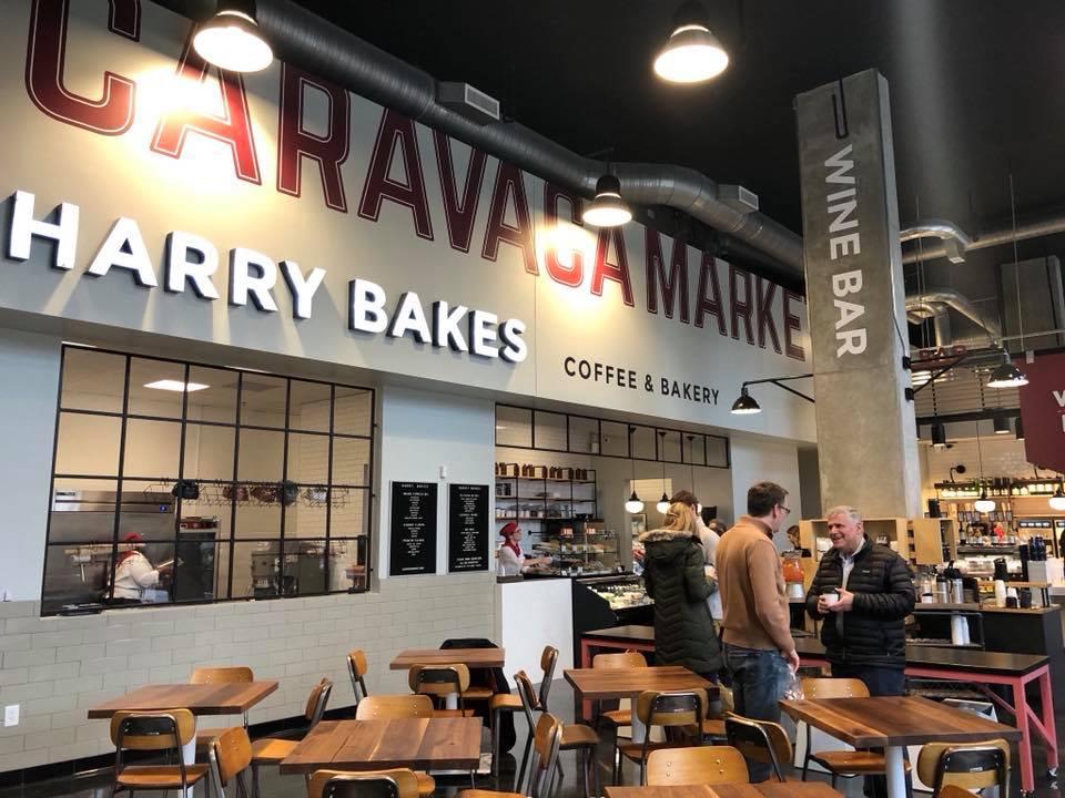 El restaurante-supermercado Caravaca Market en Atlanta (Estados Unidos)/ Imágenes cedidas por José Francisco García.