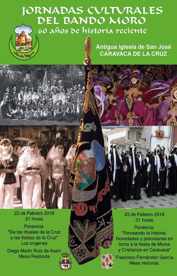Cartel de las Jornadas Culturales del Bando Moro (2018).