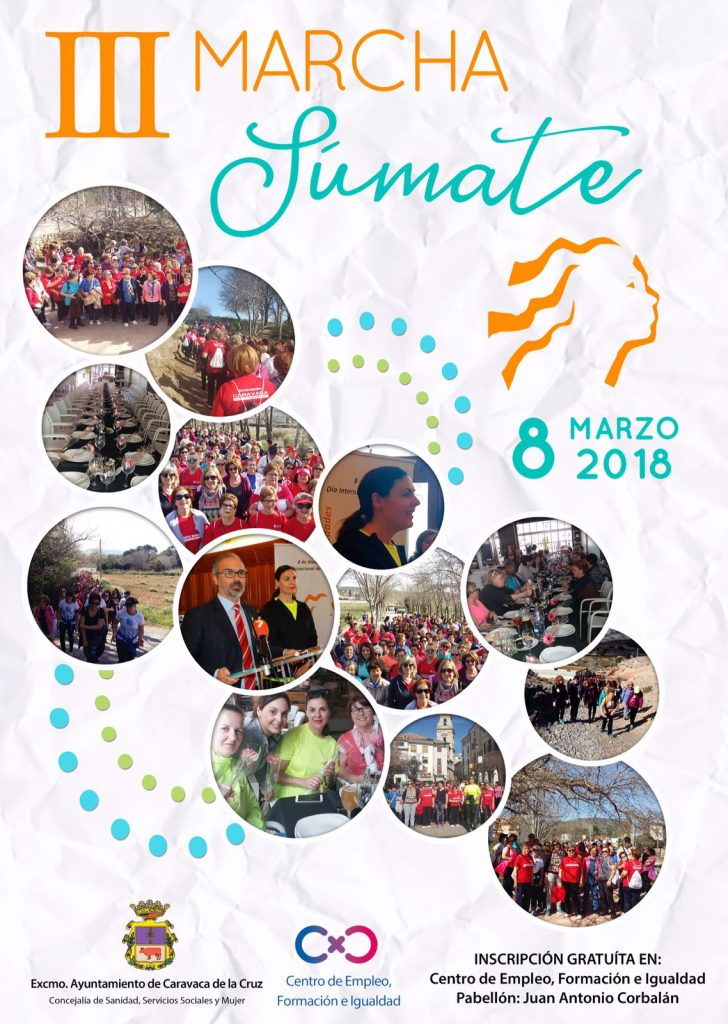 Caravaca de la Cruz celebra el Día Internacional de la Mujer