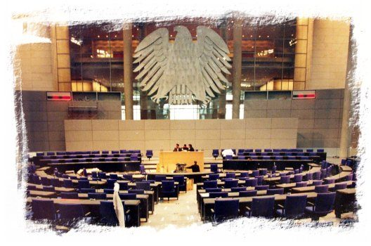 La piedra jaspe de Caravaca en el Guggenheim y en el Reichstag
