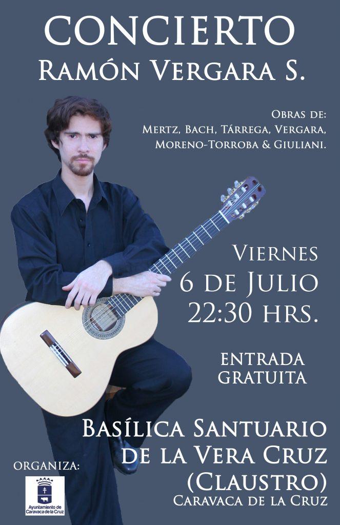 Ramón Vergara Silva, guitarrista.