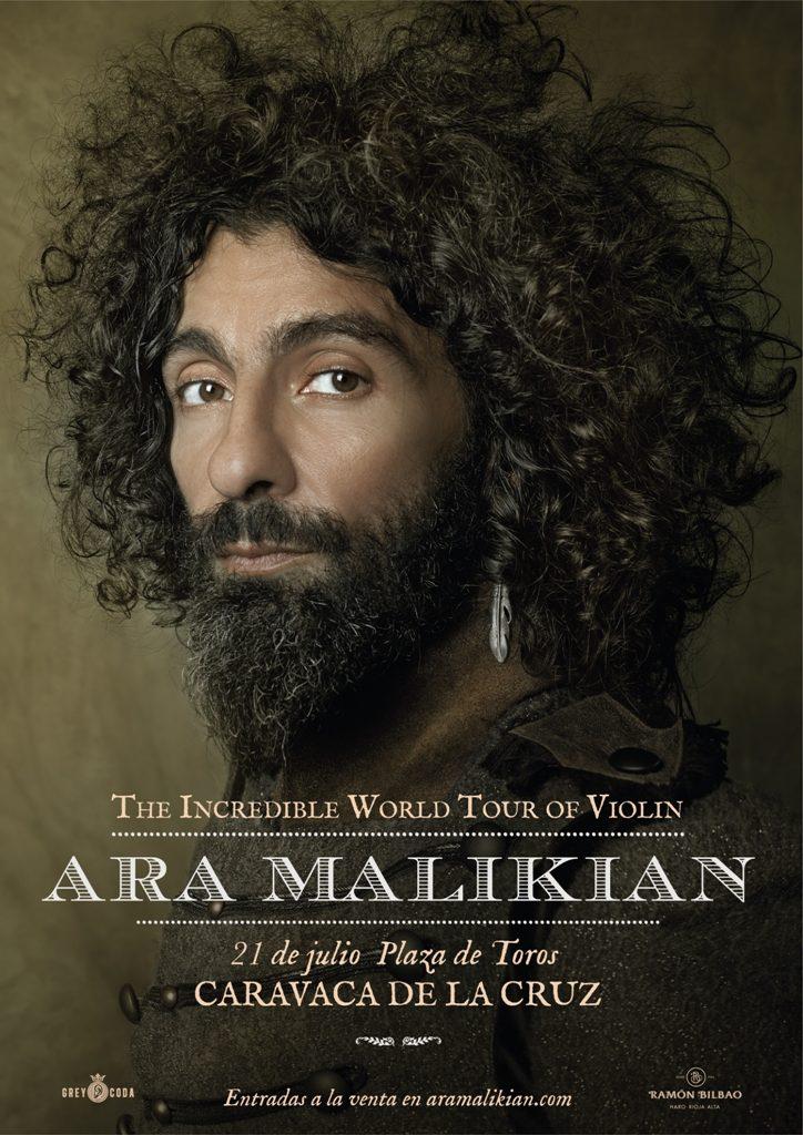 Ara Malikian, este sábado en Caravaca de la Cruz