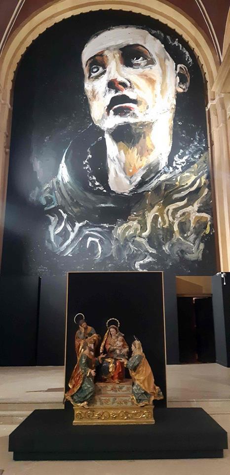 'Misticos' reúne obras de grandes maestros de la pintura y la escultura universal