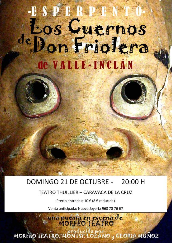 Valle-Inclán 'Los cuernos de Don Friolera'