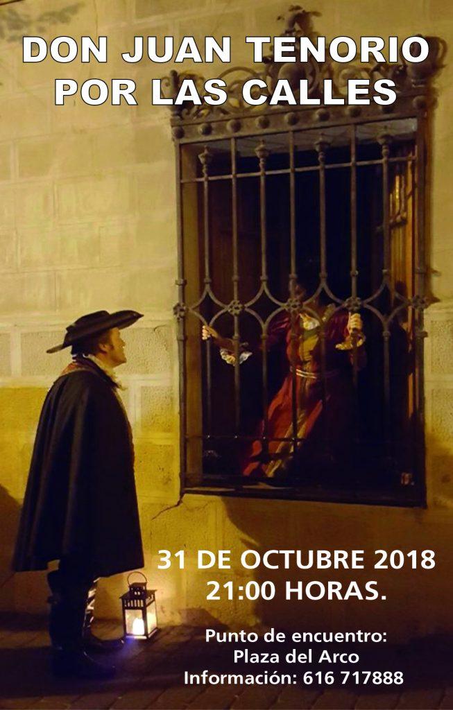 Don Juan Tenorio en las Calles de Caravaca