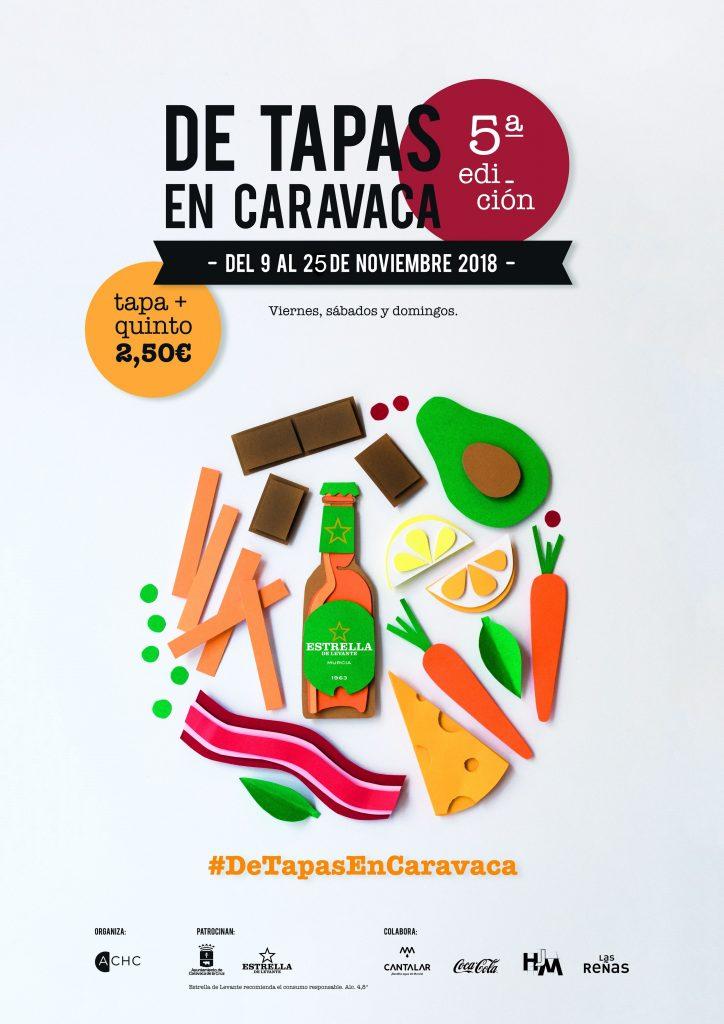 'De tapas en Caravaca' quinta edición.