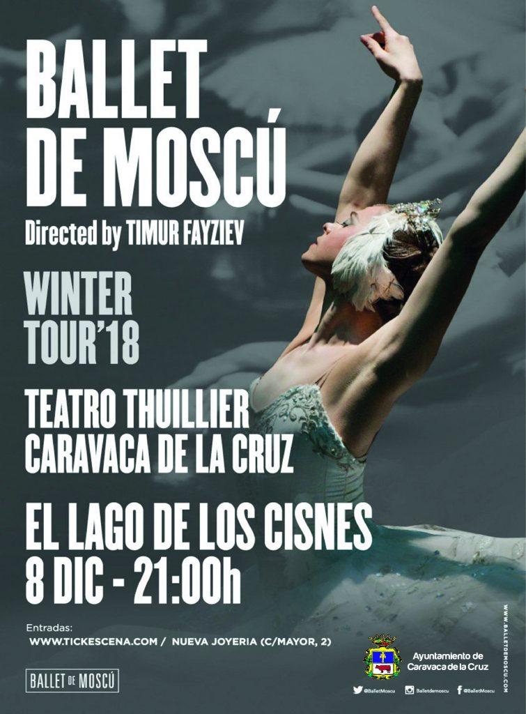 El Ballet de Moskú en Caravaca de la Cruz 'El lago de los cisnes'