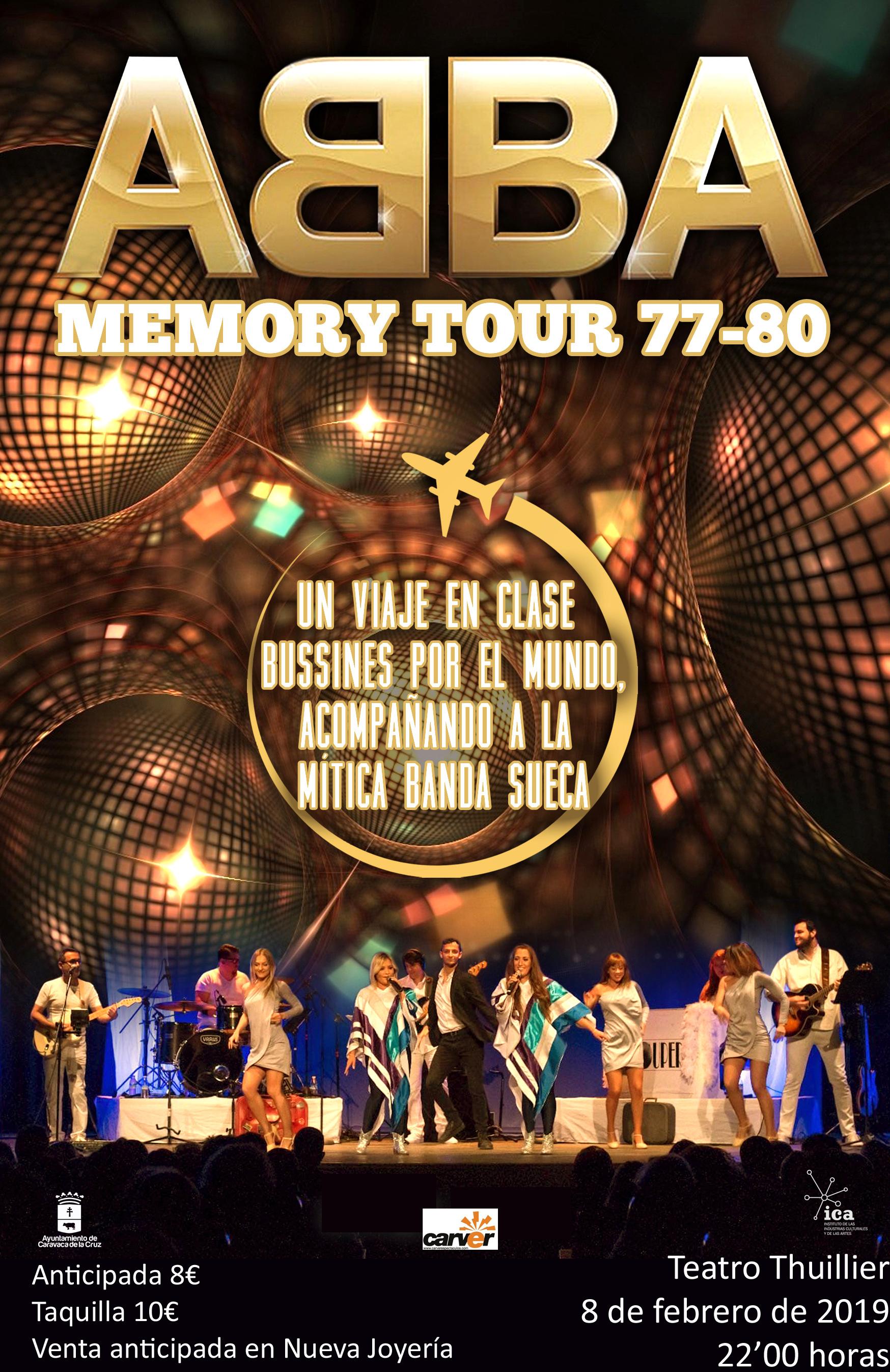 ABBA Memory Tour 77-80