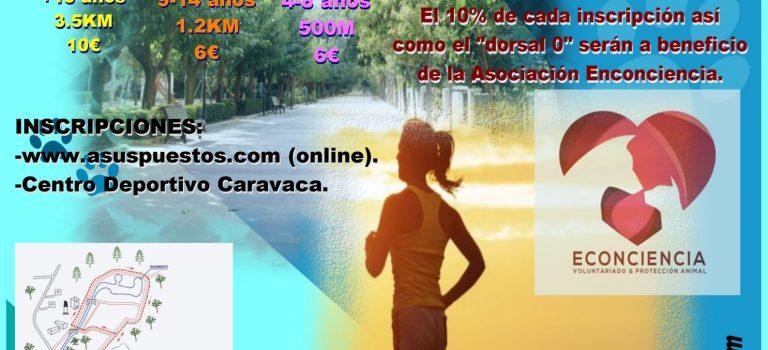 Primera edición del CaniRun de Caravaca