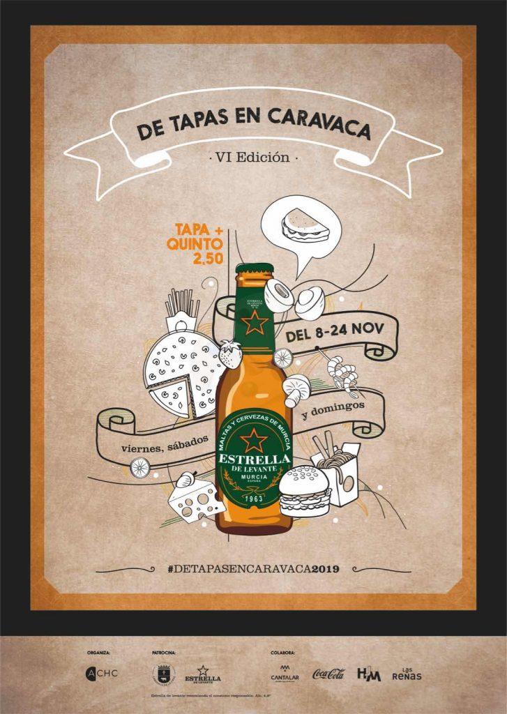 De tapas en Caravaca. VI edición.