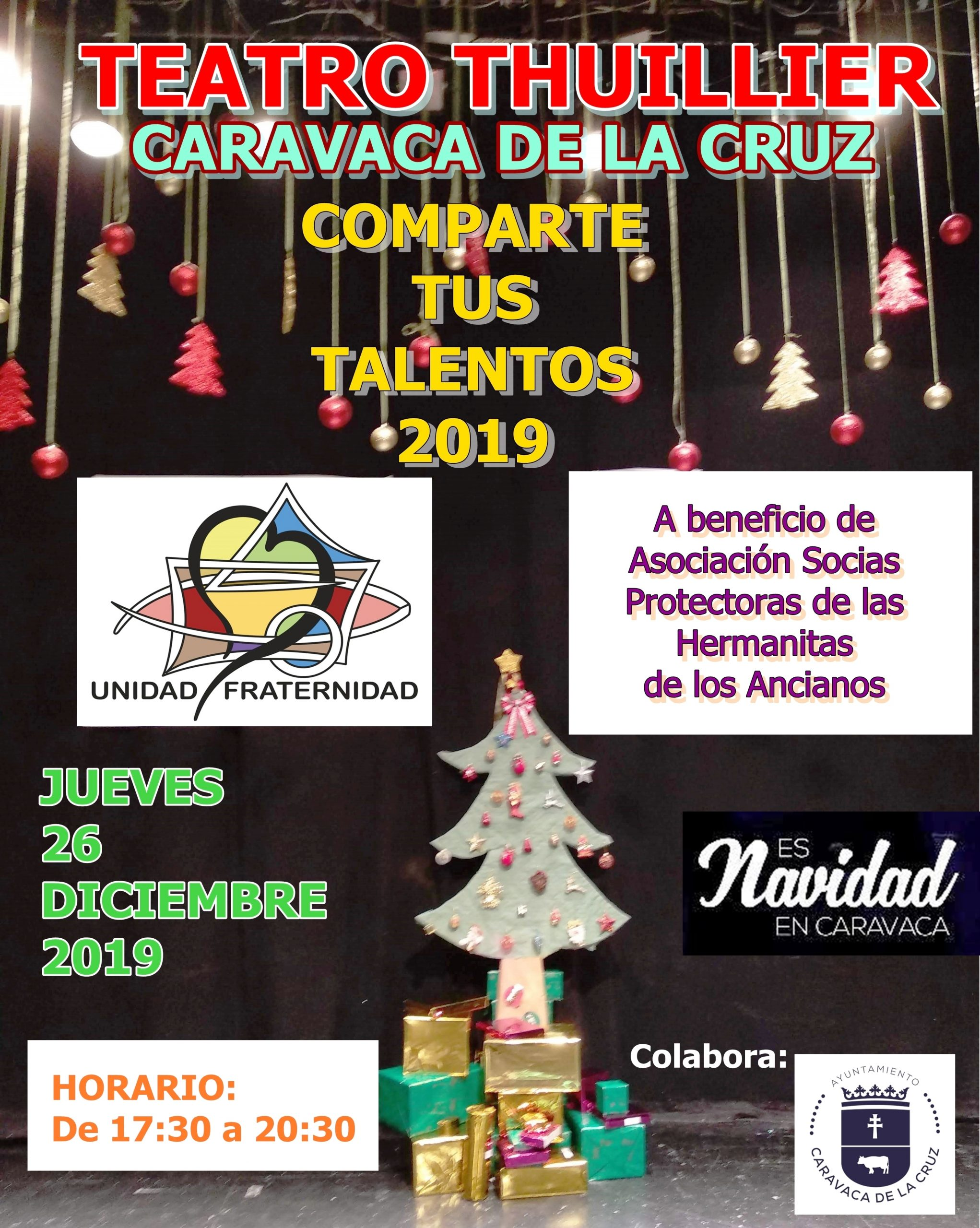 Las actuaciones benéficas de 'Comparte tus talentos' llegan este jueves al escenario del Thuillier de Caravaca