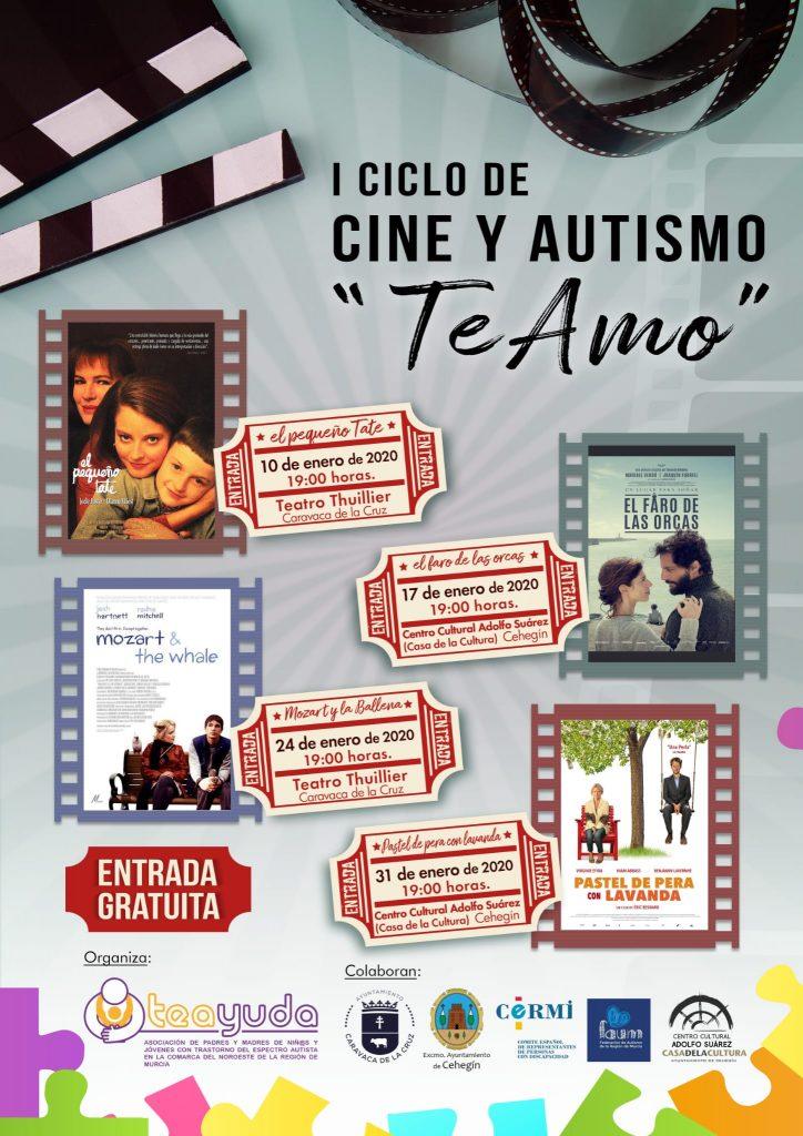 I Ciclo de cine y autismo 'Te Amo'