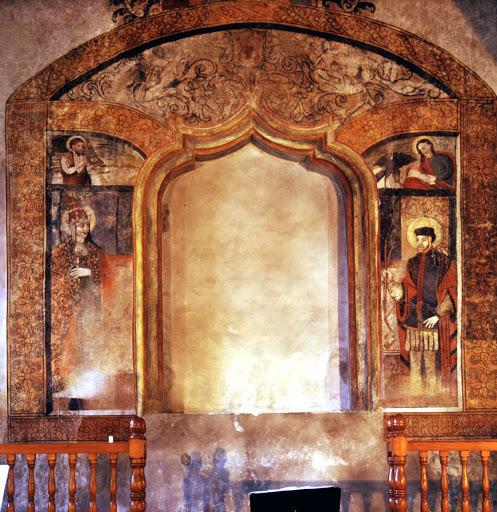 Las pinturas de la ermita de San Sebastián de Caravaca