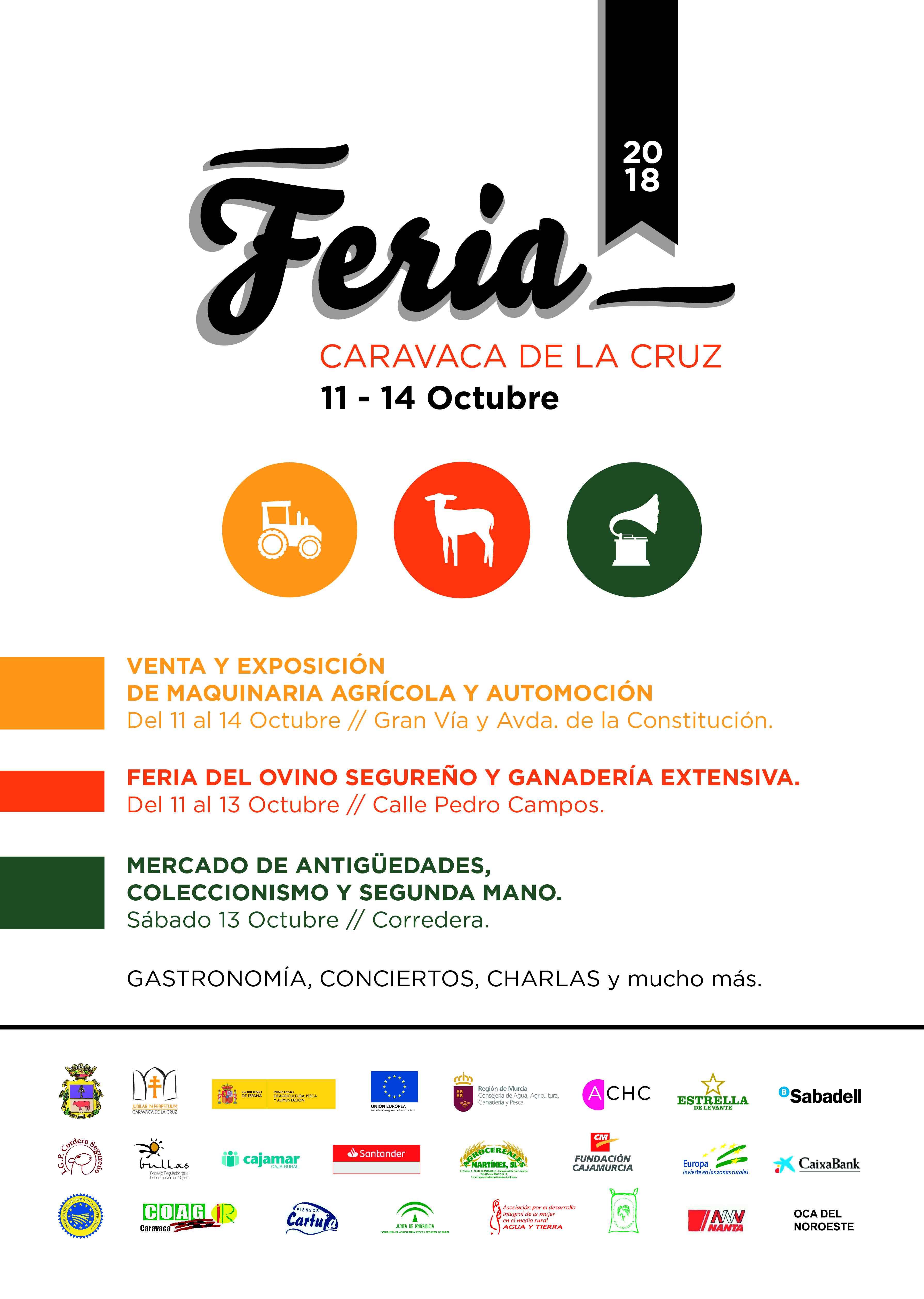 La Feria De Caravaca Se Celebra Del 11 Al 14 De Octubre Con Actividades Para Todos Los Publicos